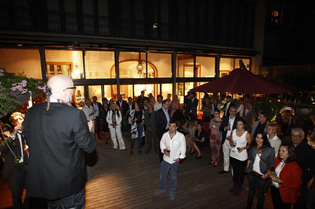 02/10/14 Inauguraci— de la fira Swab a Barcelona. FOTO: PERE DURAN