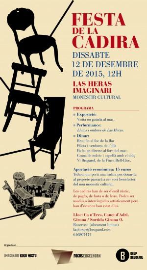 flyer Festa de la Cadira